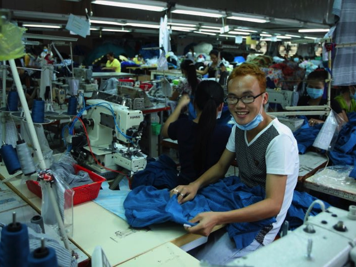 Working in Sewing Factory