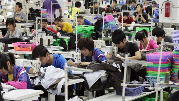 Garment Production in China