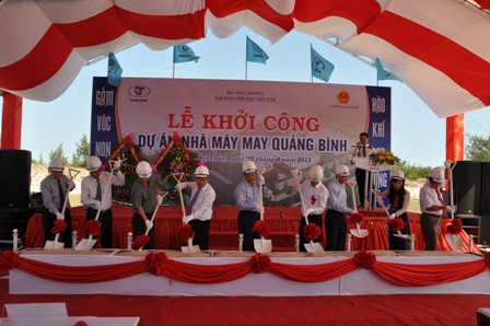 New Sewing Factory in Quang Binh