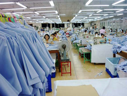 Vietnamese sewing factory