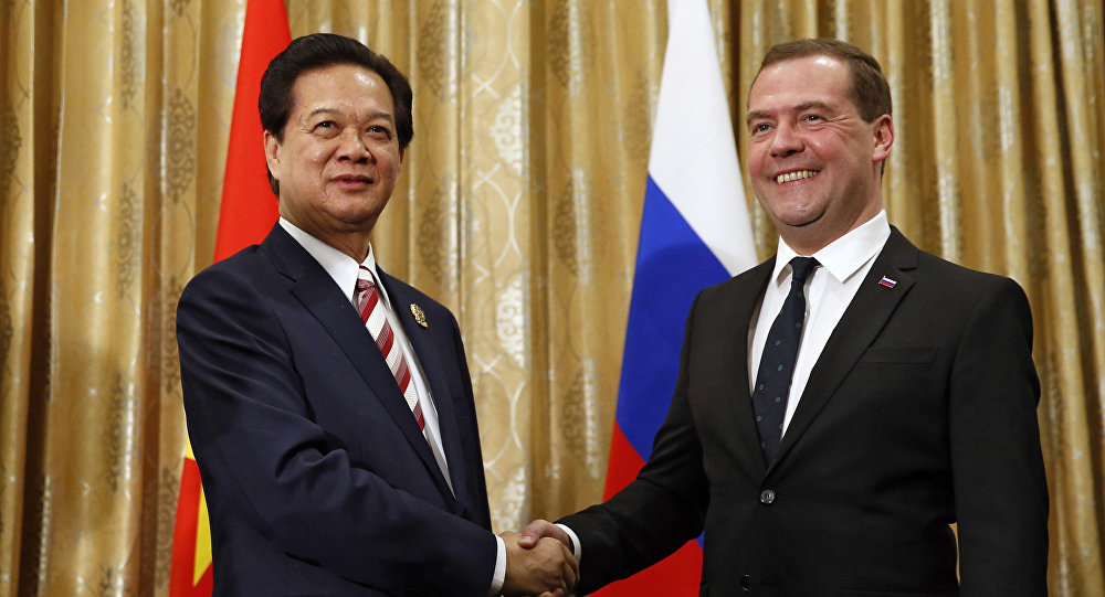 Vietnam signed FTA with Russia